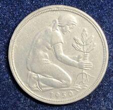 50 Pfennig 1950 G Bank Deutsche Länder