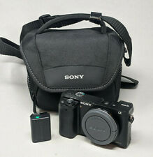 Sony Alpha a6000 body only - plus charger & battery - 5K clicks!