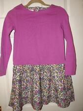 Mini Boden 100% Cotton Long Sleeve Knee Length Girls' Dresses (2-16 Years)
