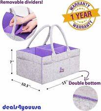 Baby Diaper Comfy Carry Organizer Caddy Unisex Basket - Newborn Infant Nursery