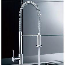 Enki Professional estrarre rubinetto miscelatore lavello della cucina Spray punto focale Alto BRUGES