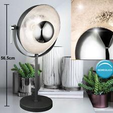Lampe de table réverbère latéral de projecteur de foudre table argenté pivotant