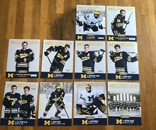 2019-2020 Michigan Wolverines Men's Hockey Program Set