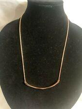 NWT Kendra Scott Graham Choker Adjustable Necklace MSRP $110 Rose Gold