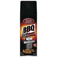BARBECUE BBQ GRILL CLEANER SPRAY GREASE DISSOLVES BURNED-ON 12 oz