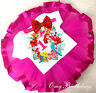 Little Mermaid Princess Ariel Hot PInk Tutu Shirt Headband 1st Birthday Outfit