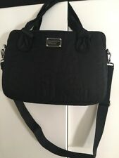 "Marc by Marc Jacobs Commuter  15"" Laptop Messenger Bag Pretty Nylon Black  NEW"