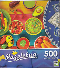 NEW Puzzlebug 500 Piece Puzzle ~ Mexican Condiments ~ FREE SHIPPING