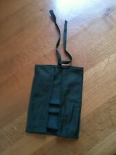 Vintage Swedish Army cutlery pouch, weapon cleaning kit pouch, olive small