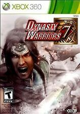 Dynasty Warriors 7 (Microsoft Xbox 360, 2011) CASE AND BOOKLET ONLY