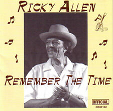 RICKY ALLEN - Remember The Time  Great Chicago Blues CD