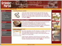 EXISTENZGRÜNDERPORTAL WEBSEITE HTML PHP Website PORTAL EXISTENZ GRÜNDUNG MRR NEU