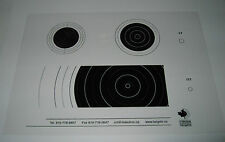 Scoring Overlays ISSF for Air Rifle/Smallbore .177 .22