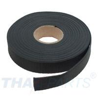 10m Gurtband 25mm Breit ca. 1,6mm stark - dunkelgrau Polypropylen Taschengurt