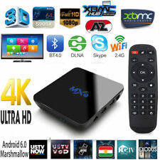 MXQ M8S Smart TV Box Android 6.0 Media Player Quad Core 4K OTT TV BOX