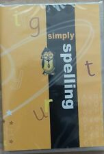 Student Support Centre  Simply spelling DVD new and sealed.