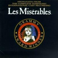 Highlights from the Complete Cast Recording: Les Miserables Soundtrack Cassette