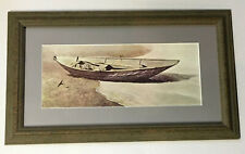 Andrew Wyeth Matted & Framed print~Spindrift~Excellent Condition