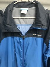 🔥👩🔥Mens Columbia Zip Up Windbreaker Jacket Size Large L🔥👩🔥