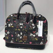 Dooney & Bourke Disney Parks Romancing Minnie Zip Zip Satchel Bag Purse NWT