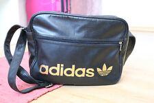 adidas Airliner Bag Tasche Mesenger Umhängetasche schwarz gold