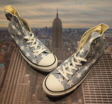 Converse Chuck Taylor All Star High Top Mirage Gray/White Stars Size 11 136616F