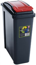 WHAM Recycling Bin 25ltr Red - 12410