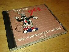 Just Say Yes: Sire's Winter CD Music Sampler by Various Artists CD Nov-1987 Sire