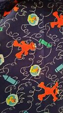 Sesame Street Elmo Window Valance Curtain Crayons Scribble Writing Orange Fish