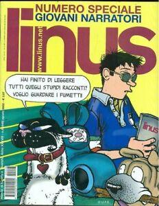 LINUS 8 AGOSTO 2002 Giovani narratori: Andrej Longo, Raimo, Morozzi, Mancassola