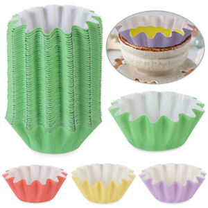 100X Reusable Wax Melt Warmer Liners Candle Liner Leakproof Tray Popper Cups DIY