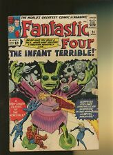 Fantastic Four 24 Vg 3.5 * 1 Book * 1st Infant Terrible! Stan Lee & Jack Kirby!