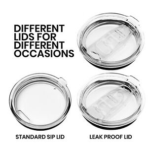 ARCTICO Leak-Proof or Sip Lid fits 10oz / 20oz / 30oz Stainless Steel Tumbler