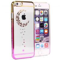 Urcover® Handy Schutz Hülle für iPhone 6 6s Back Case Glitzer Hard Cover Tasche