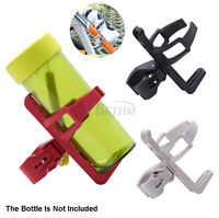 Bike Bicycle Cycling Mountain Drink Water Bottle Cup Clip Holder Mount Cage