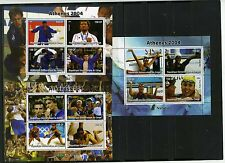 CONGO 2004 SUMMER OLYMPIC GAMES ATHENS 3 SHEETS OF 4 STAMPS  MNH
