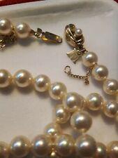 collana perle Majorca, nuova, certificato