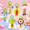 Baby Hand Bell Rattles Crib Pram Hanging Animal Stroller Car Seat Pushchair Toys