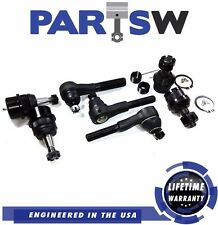 7 Pcs Steering Suspension Kit for Jeep Cherokee Wrangler TJ Comanche Tie Rod end