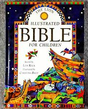 The Illustrated Bible For Kids Hardcover Book The Lion Rock Children's Learning