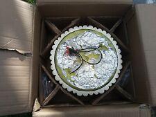 Crystorama 9010-SA Masefield Semi-Flush Mount Antique Silver (open for picture)