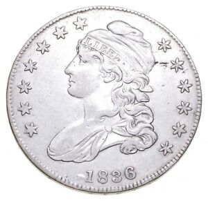 1836 Capped Bust Half Dollar *2216