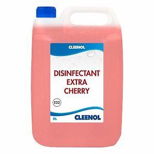 Cleenol Disinfectant Extra - Cherry - 2 x 5 Litres (10L)