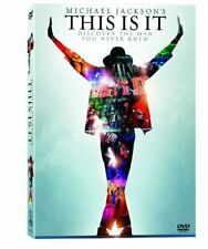 Michael Jackson's This is It (DVD, 2009) New, opened seal. Ships FREE 24hrs