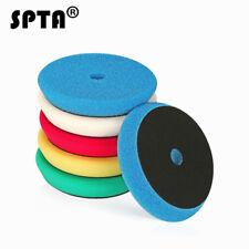 SPTA 5pcs 6inch Mix Color Light Cut And Finish Buffing Polishing Pads Kit Set