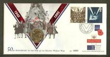 WWII Great Britain Commemorative First Day Covers (1971-Now)