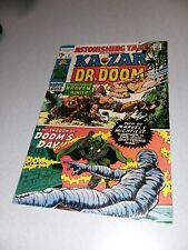 ASTONISHING TALES #1 Marvel 1970 Ka-Zar Dr. Doom jack kirby Severin Wally Wood