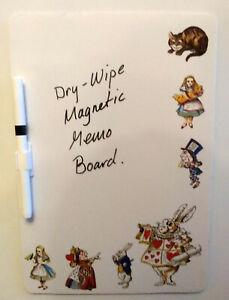 Alice Nel Paese Delle Meraviglie a Secco - Panno Lavagnetta Magnetica Perfetto