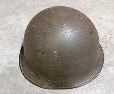 1963-1987 South African Army Otan Type Steel Helmet With Plastic Inner