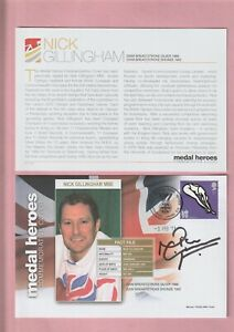G.B. London 2012 Olympic Games, Medal Heroes, Nick Gillingham MBE Signed Cover